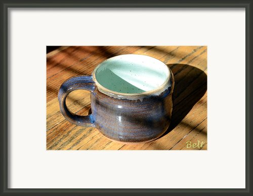 Coffee Connoisseur No.2 Framed Print By Christine Belt