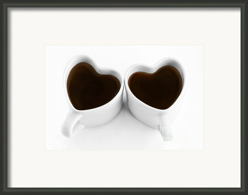Coffee Lovers Framed Print By Dan Holm