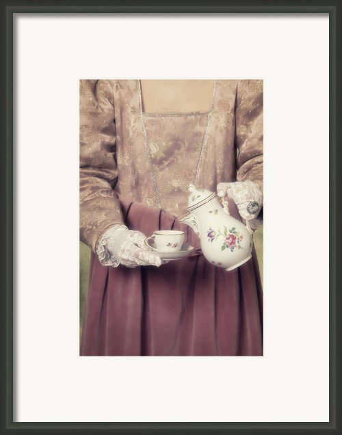 Coffee Time Framed Print By Joana Kruse