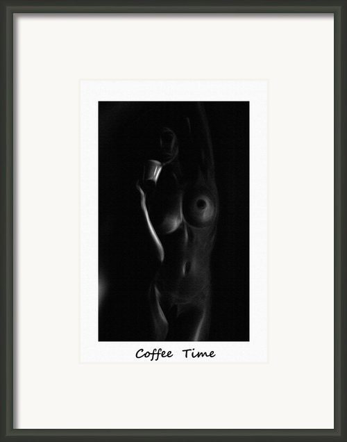 Coffee Time Framed Print By Stefan Kuhn