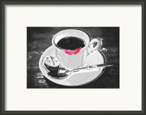 Coffee Framed Print By Tony Rubino