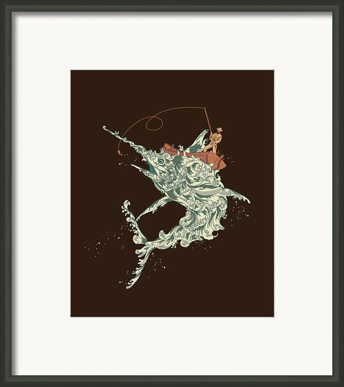 Cold Blooded Ocean Framed Print By Budi Satria Kwan