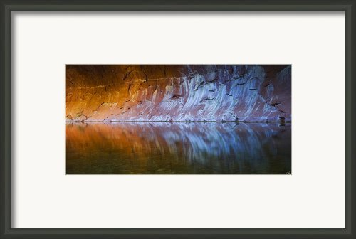 Cold Fire Framed Print By Peter Coskun