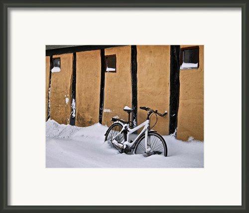 Cold Storage Framed Print By Odd Jeppesen