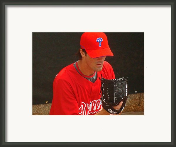 Cole Framed Print By David Rucker