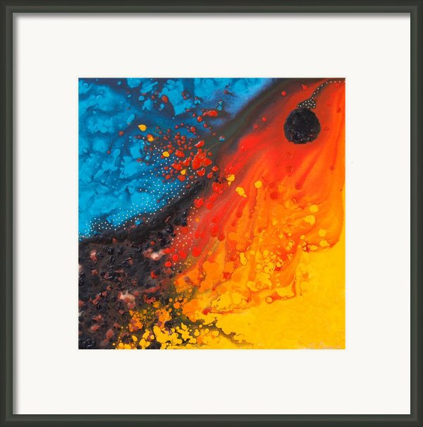 Color Dream 25 Framed Print By Sharon Cummings
