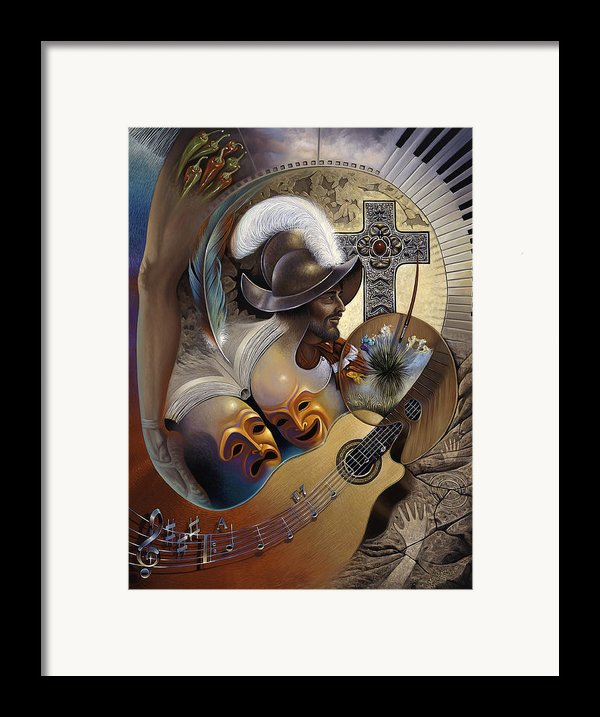 Color Y Cultura Framed Print By Ricardo Chavez-mendez
