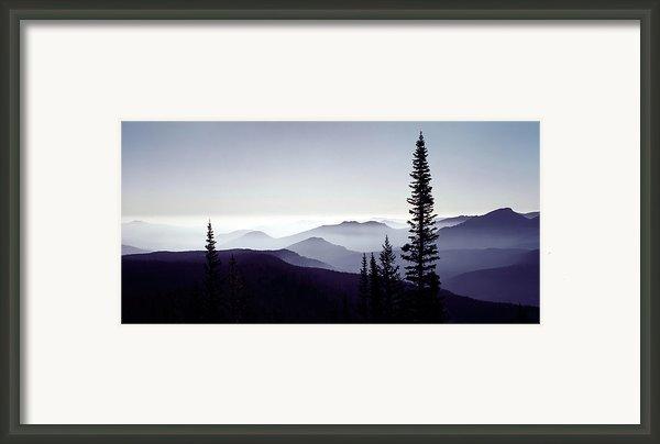 Colorado Haze Framed Print By Adam Romanowicz