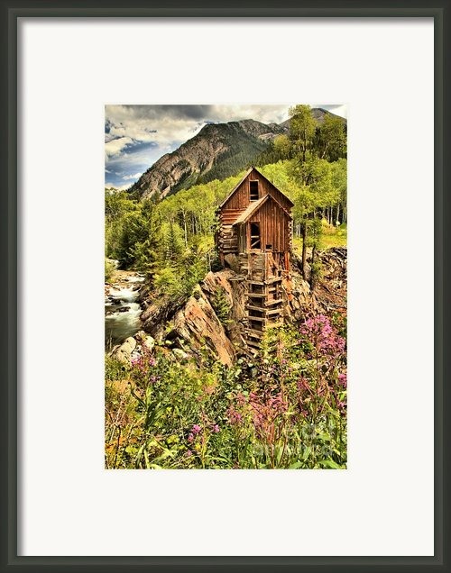 Colorado Icon Framed Print By Adam Jewell