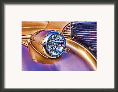 Colorful Hotrod Framed Print By Carol Leigh