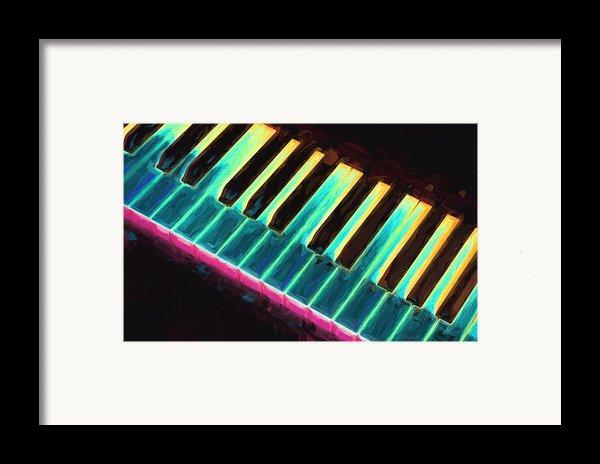 Colorful Keys Framed Print By Bob Orsillo
