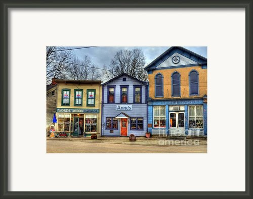 Colors Of Metamora 2 Framed Print By Mel Steinhauer