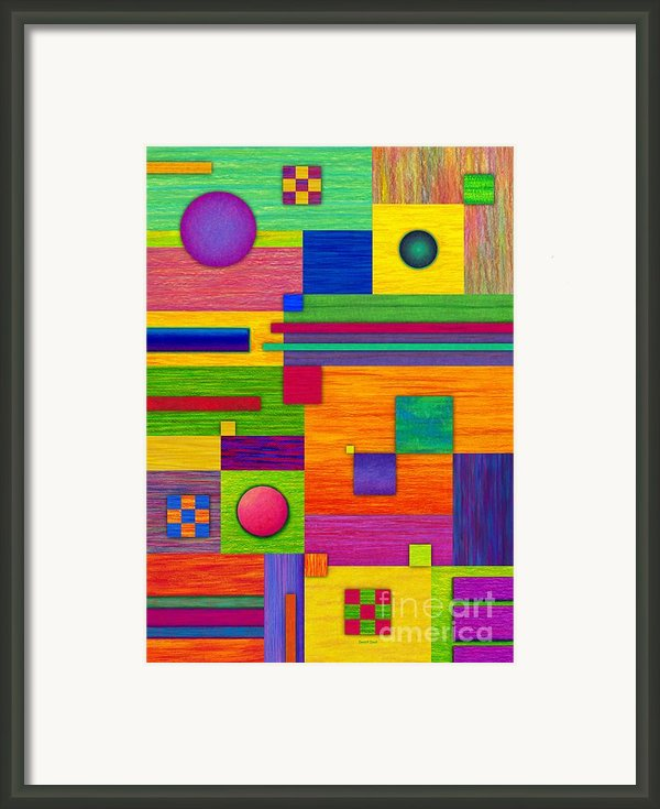 Combination 2 Framed Print By David K Small