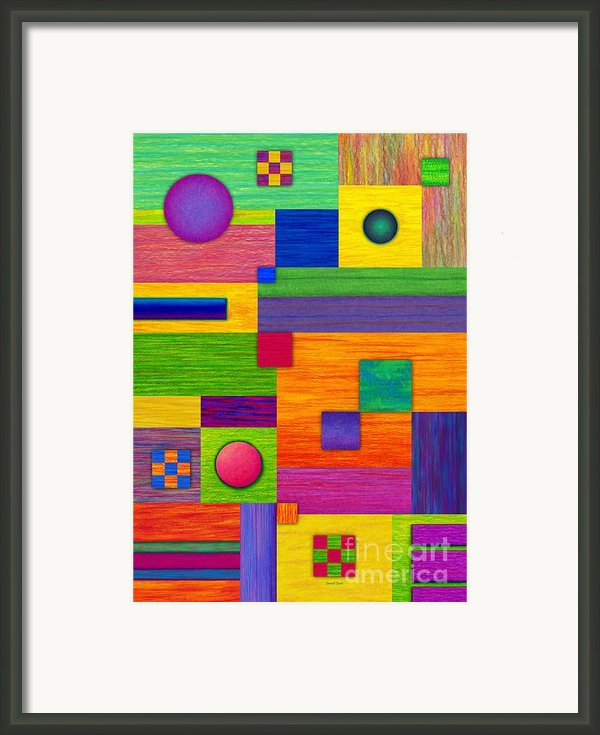 Combination Framed Print By David K Small