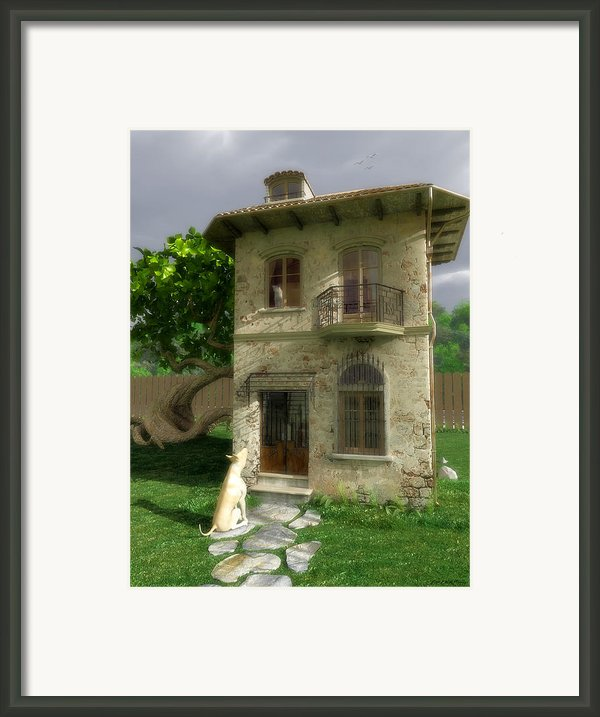 Come Out And Play Framed Print By Cynthia Decker