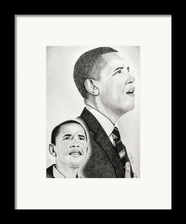 Commander In Chief Framed Print By Timothy Gaddy