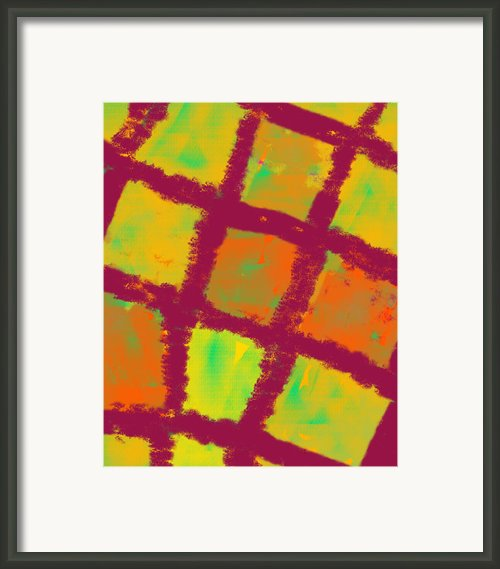 Compartments Of Light Framed Print By Catchy Little Art
