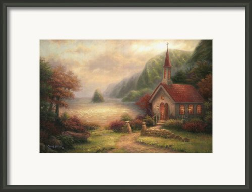 Compassion Chapel Framed Print By Chuck Pinson