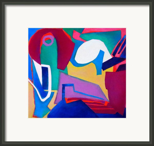 Composition In See Framed Print By Diane Fine