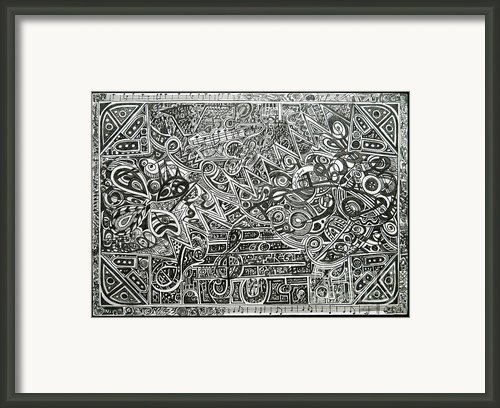 Concert Framed Print By Denisa Laura Doltu