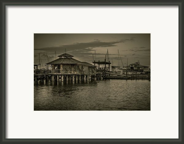 Conch House Marina Framed Print By Mario Celzner