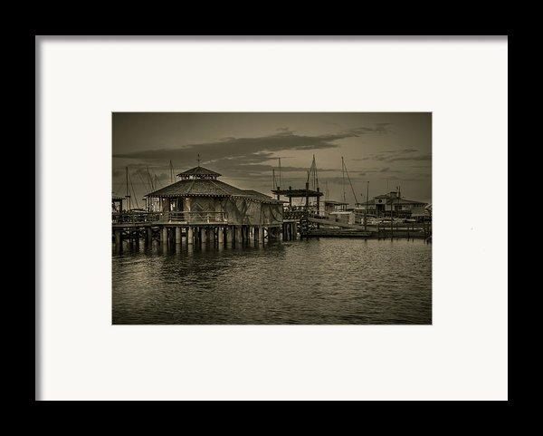Conch House Marina Framed Print By Mario Celzner