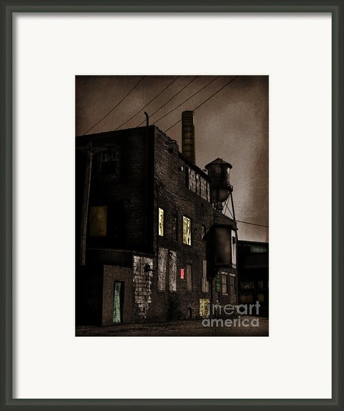 Condemned Framed Print By Colleen Kammerer
