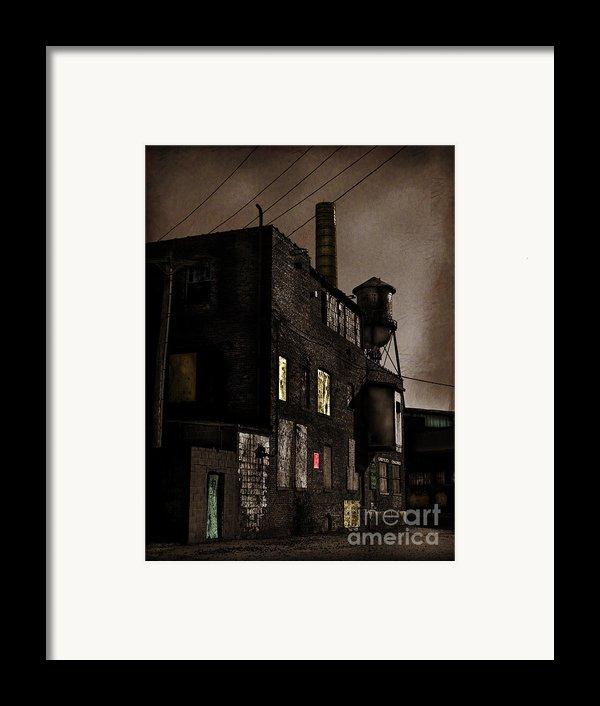 Condemned Framed Print By Colleen Kammerer