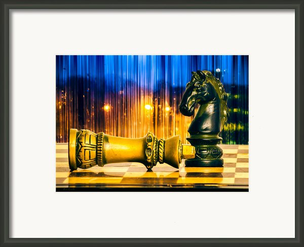 Condescending Knight Framed Print By Bob Orsillo