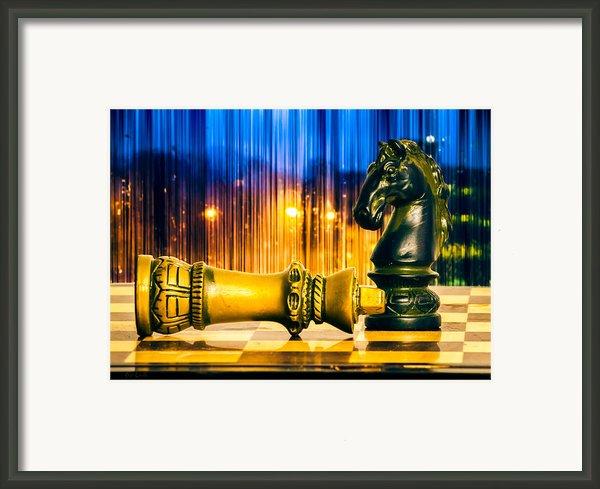 Condescending Knight Framed Print By Bob Orsillo