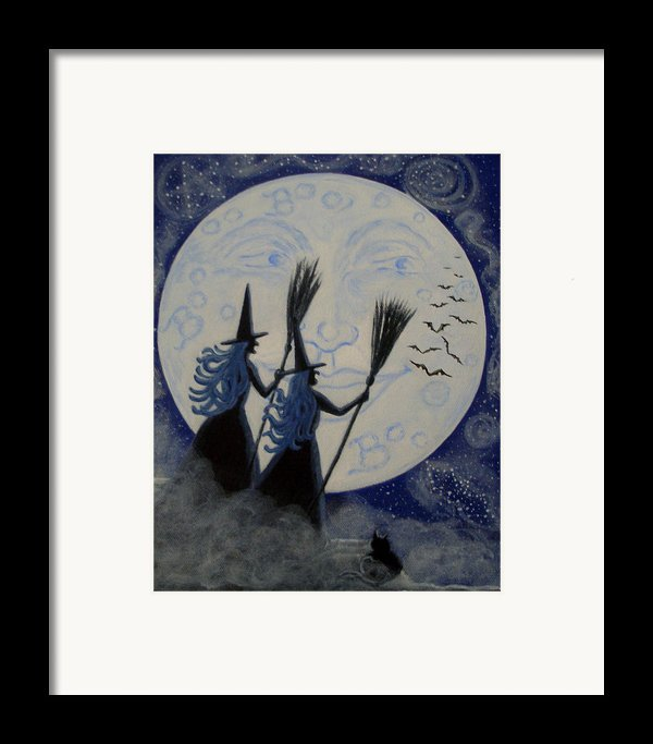 Conjuring Constellations Framed Print By Christine Altmann