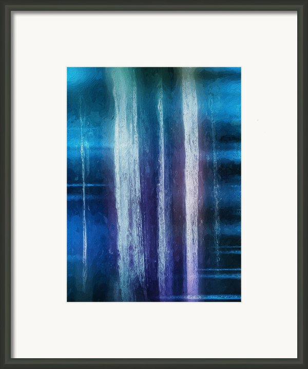Connect Framed Print By Skip Hunt