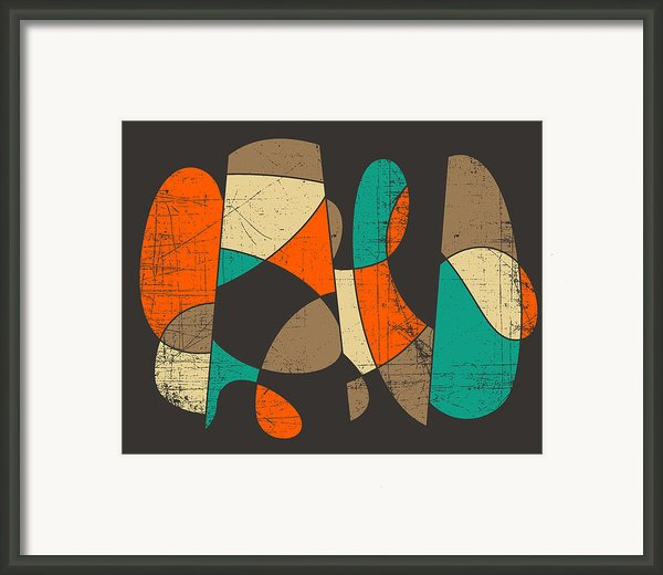 Connected Framed Print By Jazzberry Blue