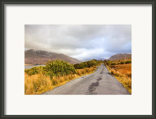 Connemara Roads - Irish Landscape Framed Print By Mark E Tisdale