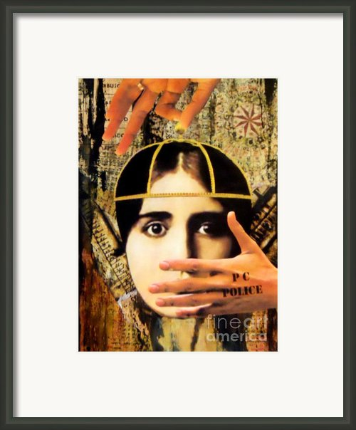 Control Framed Print By Desiree Paquette