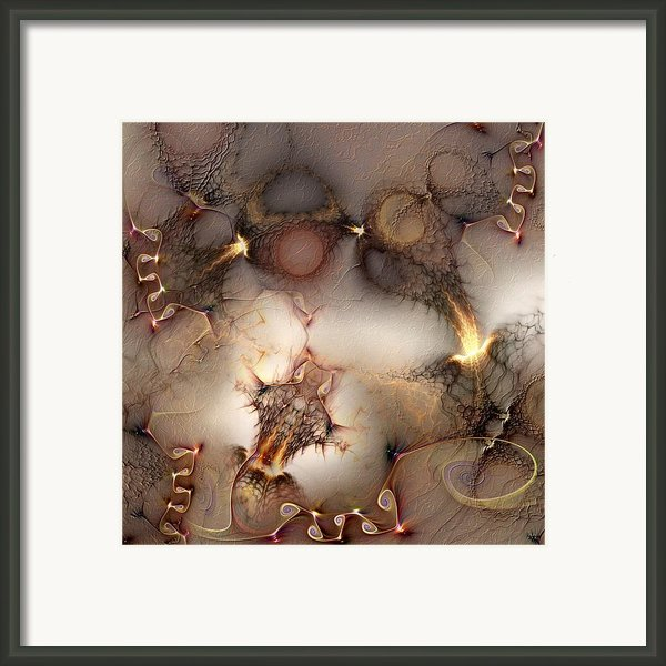 Controversy Framed Print By Casey Kotas