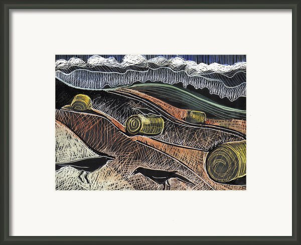 Conversation Framed Print By Grace Keown