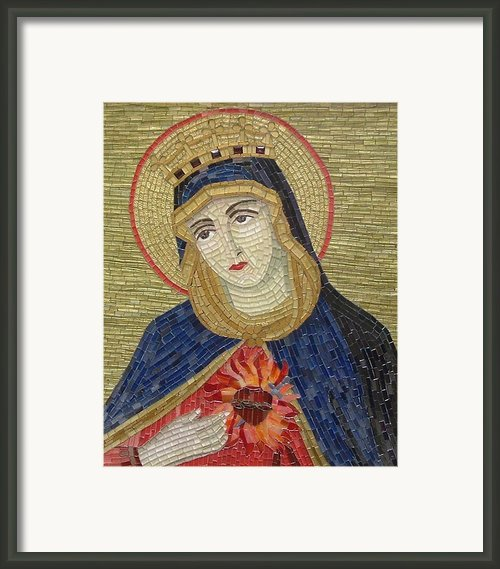 Corazon De Maria Framed Print By Liza Wheeler