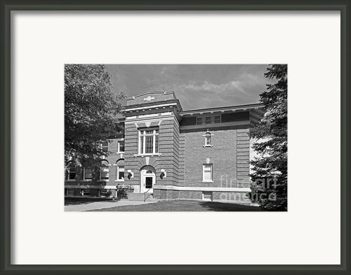 Cornell College Mc Wethy Hall Framed Print By University Icons