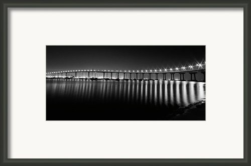 Coronado Bay Bridge Framed Print By Ryan Hartson-weddle