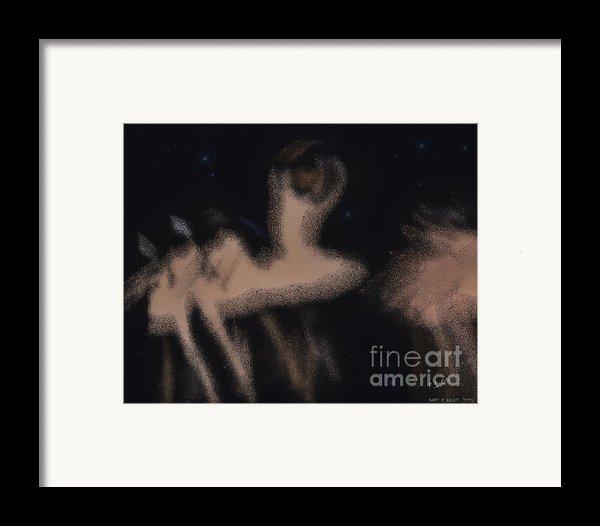 Corps De Ballet Framed Print By Pedro L Gili