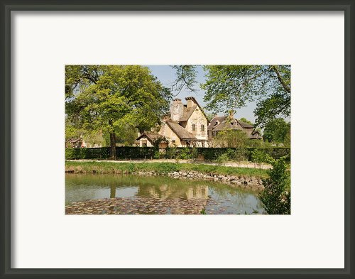 Cottage In The Hameau De La Reine Framed Print By Jennifer Lyon