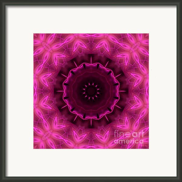 Cotton Candy Framed Print By Hanza Turgul