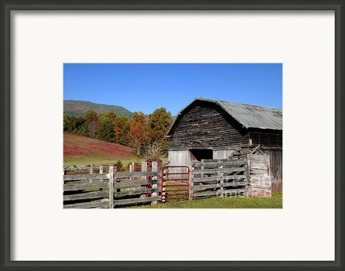 Country Barn Framed Print By Jeff Mcjunkin