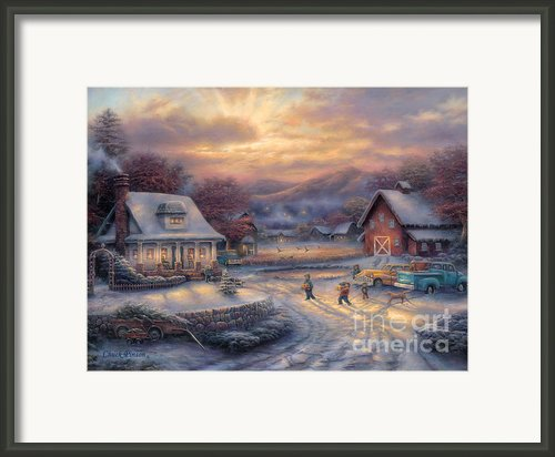 Country Holidays Framed Print By Chuck Pinson