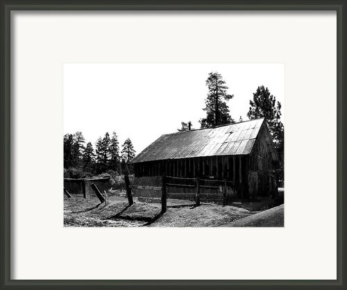 Country Living Framed Print By Camille Lopez