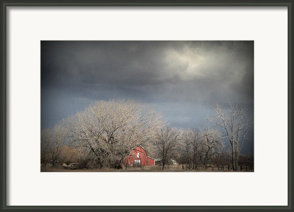 Country Storms.. Framed Print By Al  Swasey