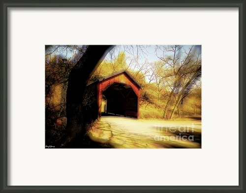 Covered Bridge 2 Framed Print By Cheryl Young