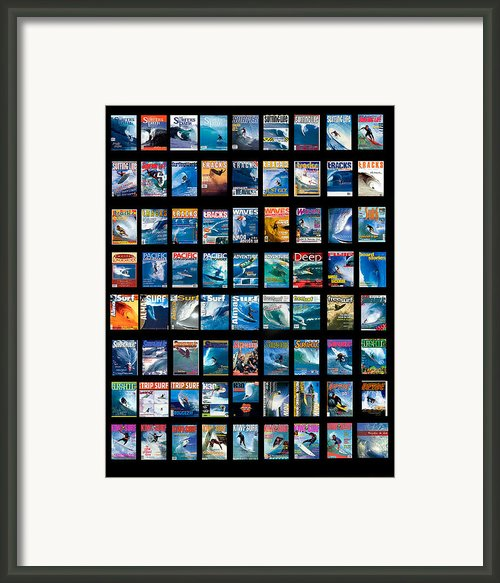 Covers Galore Framed Print By Sean Davey