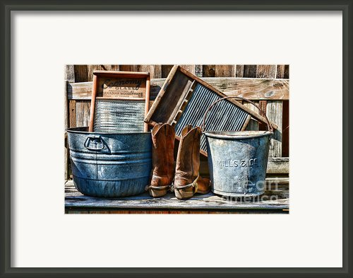 Cowboys Have Laundry Too Framed Print By Paul Ward